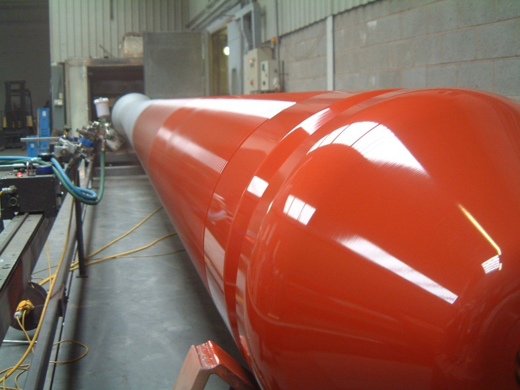 Fluoropolymer Coatings Cylinder
