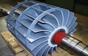 Vacuum pump thermal spray coatings