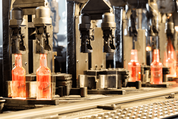 Thermal spray coatings for the glass manufacturing industry